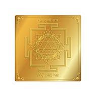 Shree Durga Yantra in Gold Polish - 3 inches