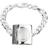 Mahamrityunjaya yantra bracelet - in silver-I