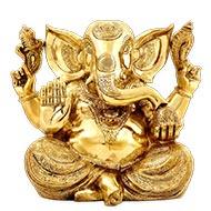 Ganesha Idol in Brass - VI