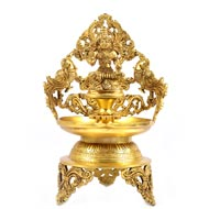 Laxmi Urli  in Brass
