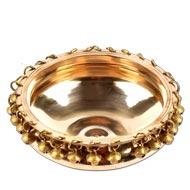 Round Urli in Brass