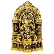 Exquisite Riddhi Siddhi Ganesh Idol