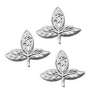 Bel Patra in German silver - Set of 3
