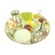 Puja Thali - silver