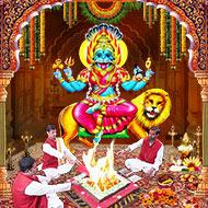 Pratyangira Devi Puja Mantra Japa and Yajna