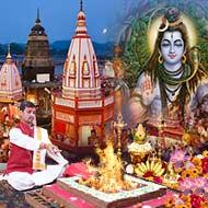 Puja at Har ki Pauri Haridwar
