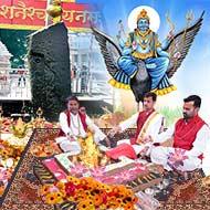 Puja at Shani Shingnapur Maharashtra
