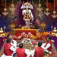 Panchmukhi (5 Faced) Hanuman Puja