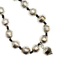Pure Siddha Parad Mala - 54+1 beads