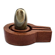 Bana Lingam with Stone Yoni base - XXVII