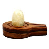 Bana Lingam with Stone Yoni base - XLII