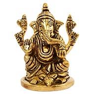 Brass Ganpati Idol