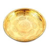 Ganesha Puja Plate in Brass