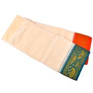 Cotton Puja Dhoti - IV