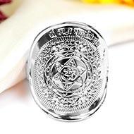 Mahasudarshan Ring in Silver