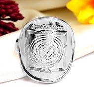 Pratyangira Ring in Silver
