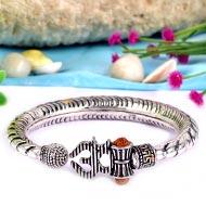 Om Kada in pure silver
