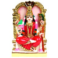 Tripur Sundari Devi Marble Idol