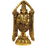 Divine Tirupati Balaji Brass Idol - I
