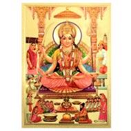 Goddess Santoshi Mata photo