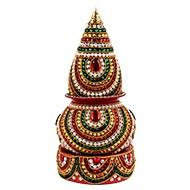 Decorative Puja Kalash - II