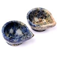 Diyas in Blue Sodalite  - Set of 2 - I