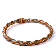Copper Iron Anklet for Stability - Heavy Design - III