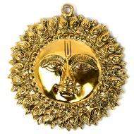 Sun Artifact for Vastu in brass - II