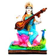 Bonded Marble Saraswati Murti