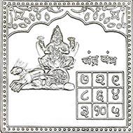 Chandra Yantra in Pure Silver