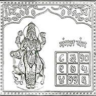 Mangal Yantra in Pure Silver