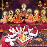 Saptarishi Puja and Yajna