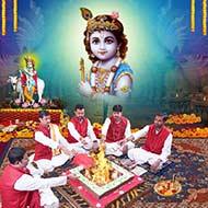 Shree Krishna Puja Mantra Japa and Yajna