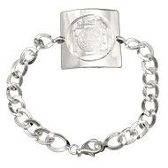 Shree Yantra Bracelet  in  Silver