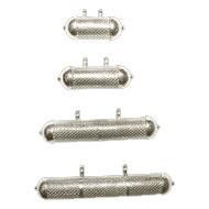 Striped Tabeez Locket - Cylindrical - IV