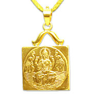 Siddh Mahalaxmi Locket in 22ct pure gold