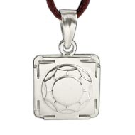 Santan Gopal Yantra Locket in Silver - 3D