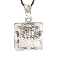 Shree Yantra Locket in Silver - 3D