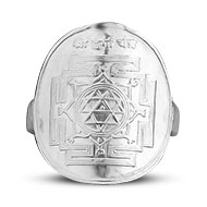 Shree Durga Yantra Ring in Silver