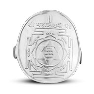 Shree Mahalakshmi Yantra Ring in Silver