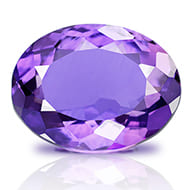 Amethyst - 9 to 11 carats - Oval