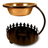 Aromafume Crown diffuser oil burner - Brass Bowl