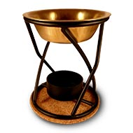 Aromafume Xcellence diffuser oil burner - Brass Bowl