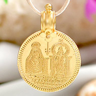 Arunachalam Locket in Pure Gold