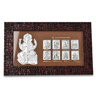 AshtaLakshmi in a wooden Frame