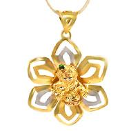 Balkrishna in Gold pendant - 4.21 gms