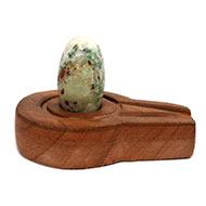 Bana Lingam with Stone Yoni base - LI