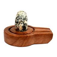 Bana Lingam with Stone Yoni base - LII