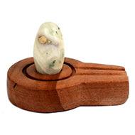 Bana Lingam with Stone Yoni base - LXI