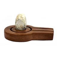 Bana Lingam with Stone Yoni base - LXVI
